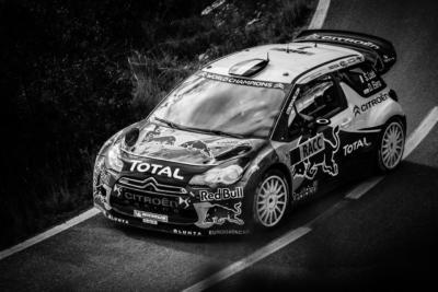 WRC RACC Rally de Catalogne 2012 - Sébastien Loeb - Citroën - Crédit photo : Frédéric Roustit
