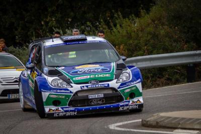 WRC RACC Rally de Catalogne 2012 - Petter Solberg - Ford - Crédit photo : Frédéric Roustit