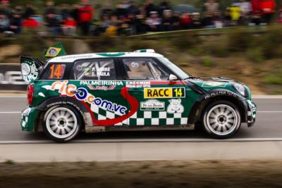 WRC RACC Rally de Catalogne 2012 - Paulo Nobre - Mini - Crédit photo : Frédéric Roustit