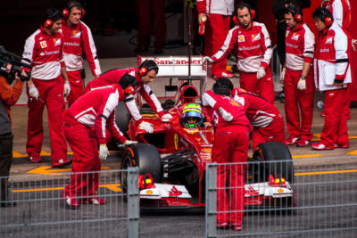 F1 Test Days 2013 Barcelone - Felipe Massa - Ferrari
