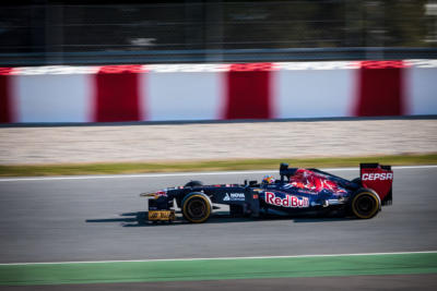 F1 Test Days 2013 Barcelone - Jean-Eric vergne -Toro Rosso