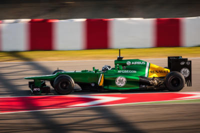 F1 Test Days 2013 Barcelone - Caterham