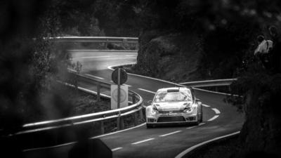 WRC RACC Rally de Catalogne 2013 - Sébastien Ogier - Volkswagen Motorsport - Crédit photo : Frédéric Roustit