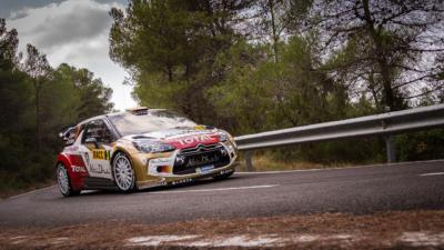 WRC RACC Rally de Catalogne 2013 - Dani Sordo - Citroën WRC - Crédit photo : Frédéric Roustit