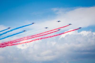 PAF - Patrouille de France 2014 - Crédit photo : Frédéric Roustit