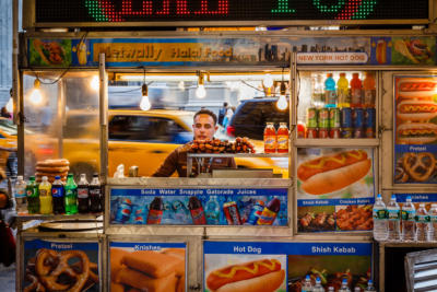 New York - Manhattan - Hot dog