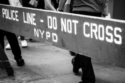 New York - Manhattan - Police line Do not cross - NYPD