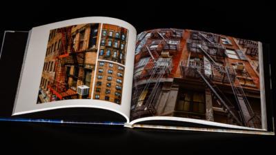 Livre photo de mon voyage à New York - Frédéric Roustit