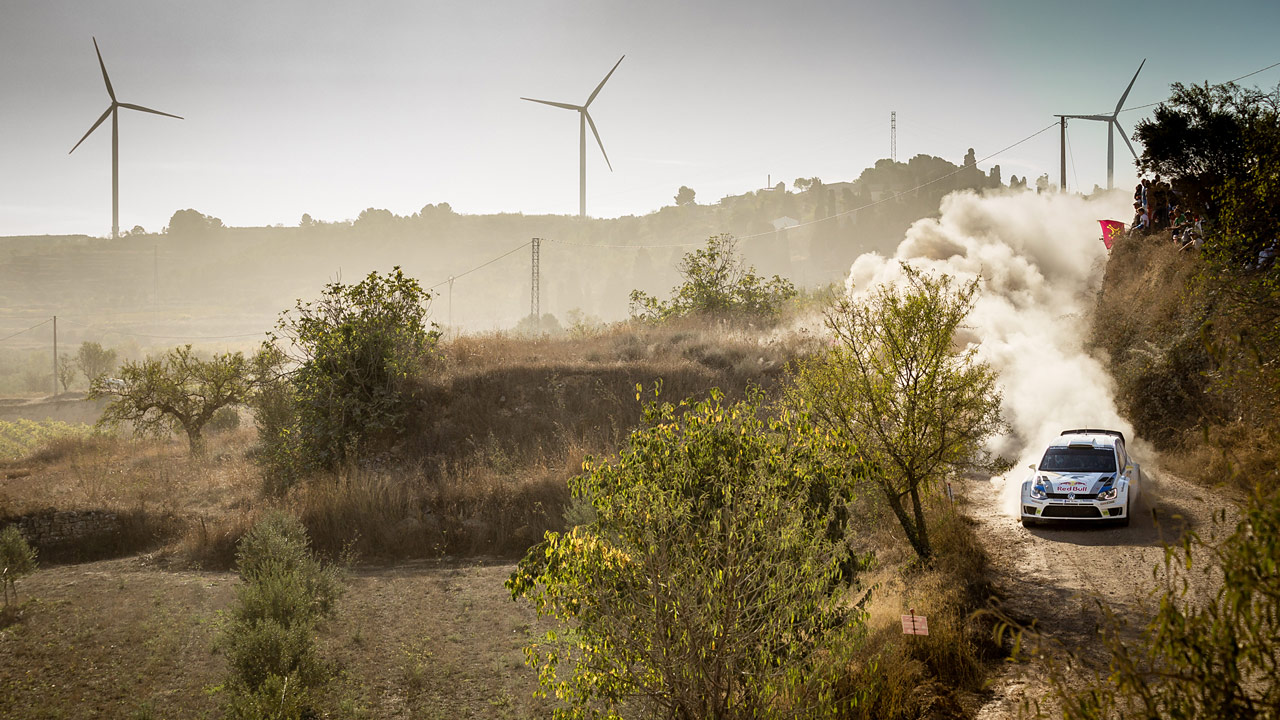 Spéciale terre - Rallye WRC d'Espagne 2013