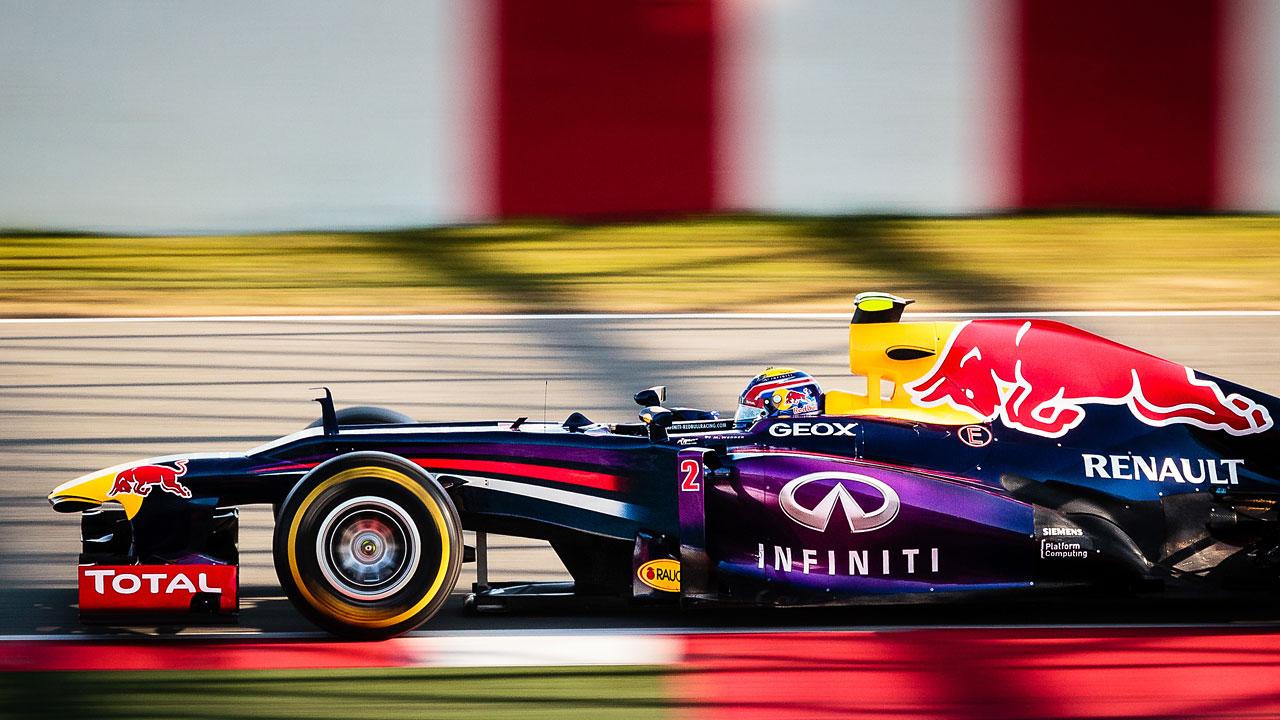 F1 test days - Barcelone 2013